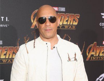 'Vengadores: Infinity War': Vin Diesel y su gracioso homenaje a Groot en la premiere de Los Angeles