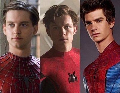 'Spider-Man': Sony elimina un vídeo oficial donde aparecía el crossover de Tom Holland con Tobey Maguire y Andrew Garfield