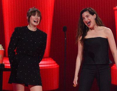'Bruja Escarlata y Visión' arrasa en los MTV Awards y Elizabeth Olsen y Kathryn Hahn dan el mejor discurso