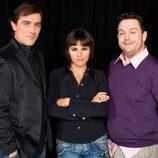 Jorge Flo, Eva Perales y Miqui Puig