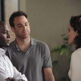Sam, Cooper y Violet en 'Sin cita previa'