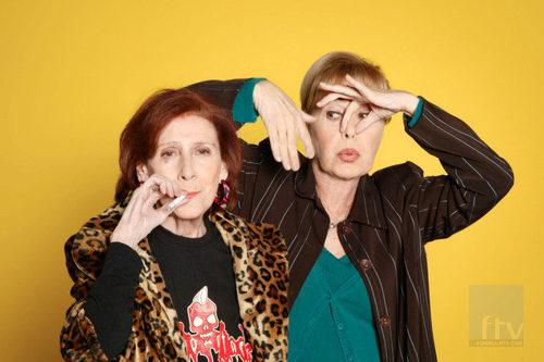 Izaskun Sagastume y Mari Tere Valverde, personajes de 'La que se avecina'