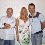 Xavier Deltell, Ivonne Armant y Jesús Vázquez