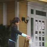 Eva Longoria en su casa de 'Mujeres desesperadas'