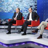 Pepa Bueno, Lorenzo Milá, Javier Pons y Fran Llorente