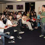 Jordi Cruz con las seguidoras