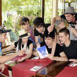 Los alumnos de 'FoQ' en el Parque de Atracciones de Madrid