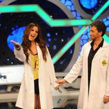 Ashley Tisdale en 'El hormiguero', con Pablo Motos