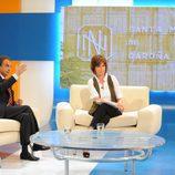 Jose Luis Rodríguez Zapatero con Concha García Campoy