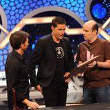 Matthew Fox en 'El Hormiguero' con Jandro