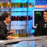 Pablo Motos y Matthew Fox
