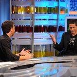 Matthew Fox, de 'Perdidos', en 'El Hormiguero' entrevistado