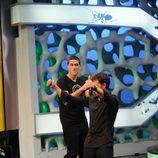 Matthew Fox baila con Pablo Motos en 'El Hormiguero'