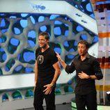 Matthew Fox baila en 'El Hormiguero' con Pablo Motos