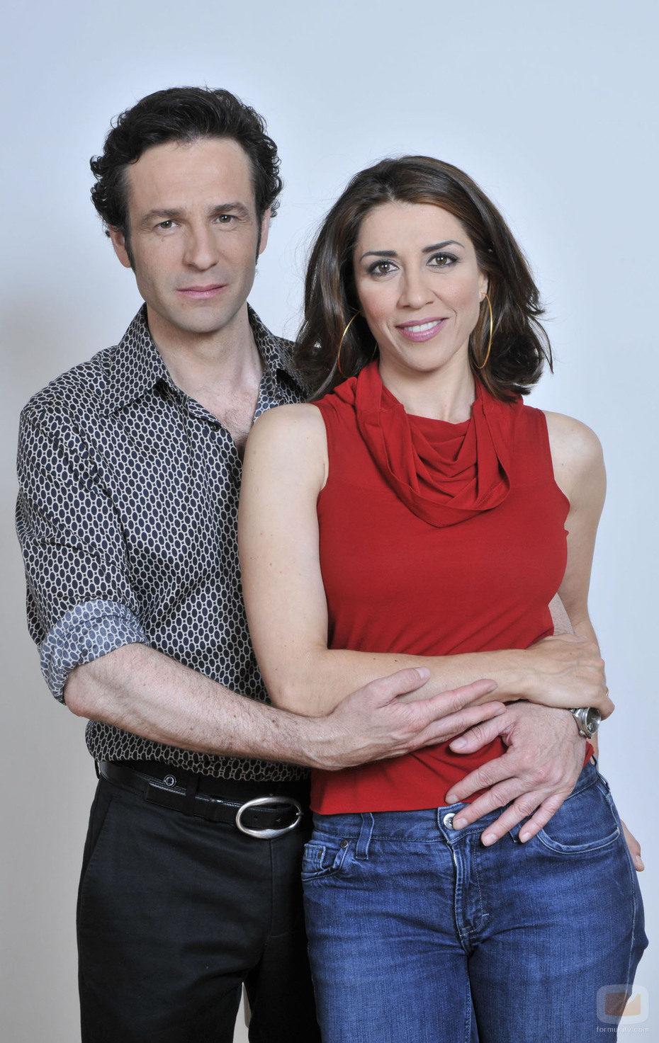 Alicia Borrachero y Gustavo Salmerón en 'De repente, los Gómez'