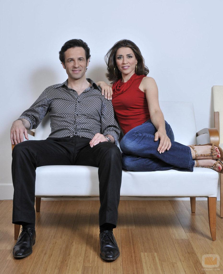 Alicia Borrachero y Gustavo Salmerón son  los protagonistas de 'De repente, los Gómez'