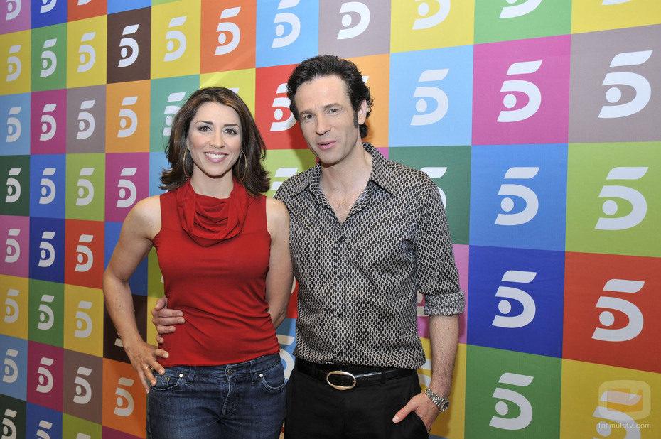 Alicia Borrachero y Gustavo Salmerón