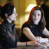 Kalinda Sharma y Alicia Florrick en 'The Good Wife'