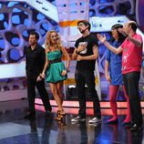Paulina Rubio baila para el público de 'El Hormiguero'