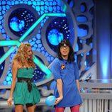 Paulina Rubio y Flipy en 'El hormiguero'