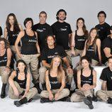 Los concursantes de 'El Topo' de Telecinco