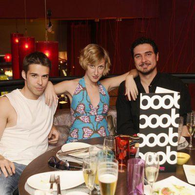 Cecilia Freire, de cena con Álex Barahona y José Manuel Seda