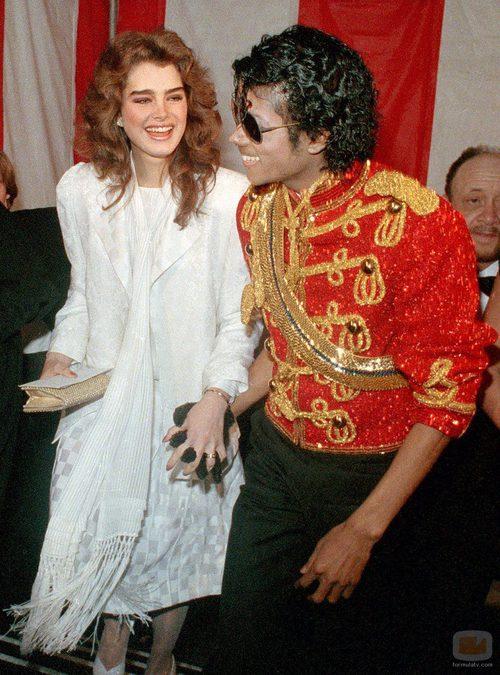 Michael Jackson con Brooke Shields