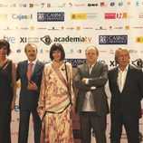Representantes de la Academia, de TVE y la Ministra de Cultura