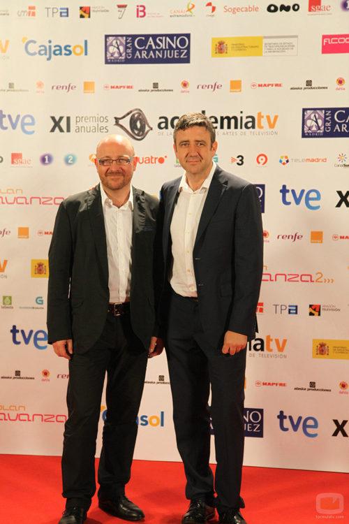 Javier Capitán y Ramón Arangüena