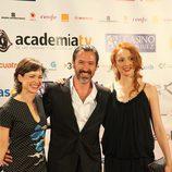 Lidia Navarro, Ginés García Millán y Cristina Castaño