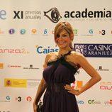 Ivonne Reyes en la alfombra de los Premios de la Academia TV 2009.
