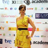 Cristina Villanueva en los Premios ATV