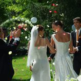 Pepa y Silvia celebran su boda en 'Los hombres de Paco'