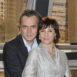José Coronado y Blanca Portillo en la presentación de la segunda temporada de 'Acusados'