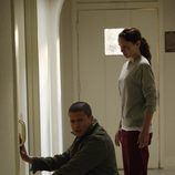 Michael y Sara en Prison Break: The Final Break
