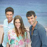 Toni Bernetti, Ona Casamiquela y José Álvarez