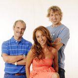 Mariñas, Iantzi y Patiño, los rostros de 'Vaya par... de tres'