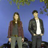 Lindsey Shaw y Ethan Peck son Kat y Patrick