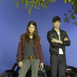Lindsey Shaw y Ethan Peck son Kat y Patrick en la serie de ABC