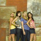 Las chicas de 'Make It or Break It', la serie de ABC.