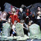 Los chicos de 'El internado' en 'El Circo de los Horrores'