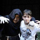 Daniel Retuerta en su visita a 'El Circo de los Horrores' (cuasimodo)
