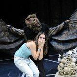 """Elena Furiase grita en """"El circo de los horrores"""""""
