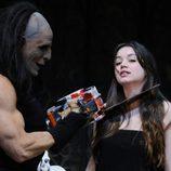Ana de Armas visita 'El Circo de los Horrores'