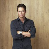 El actor Rob Lowe en la serie 'Cinco hermanos'