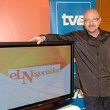 Javier Capitán, presentador de 'El negociador'