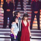 Angy y María Villalón en la final de 'Factor X'