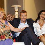 Martijn Kuiper, Cristina Peña y María Luisa Merlo