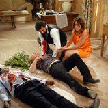 Nelson y Quique mueren en 'Los hombres de Paco'