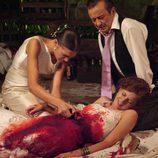 Silvia agoniza en 'Los hombres de Paco'